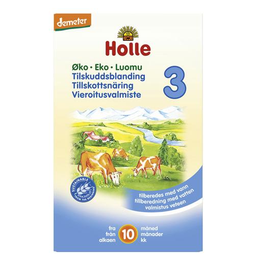 Image of Holle Tilskudsblanding 3 Økologisk - 2x300 gram