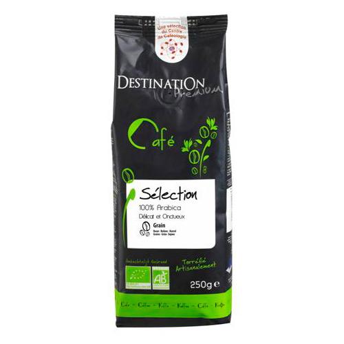 Kaffe Bønner 100% Arabica Øko - 250 gram