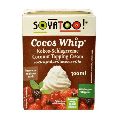 Kokoscreme alternativ til piskefløde - 300 ml.