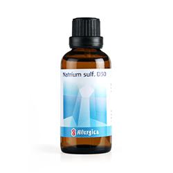 Cellesalt 10 Natrium sulf. D30  Allergica 50 ml.