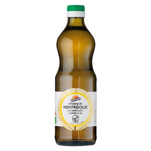 Hørfrøolie økologisk - 500 ml.