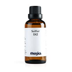 Sulfur D12 fra Allergica - 50 ml.