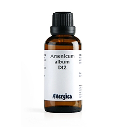 Image of   Arsenicum album D12 fra Allergica - 50 ml.