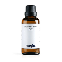 Image of   Aurum metallicum D12 - 50 ml.