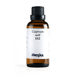 Image of   Cuprum sulf. D12 fra Allergica - 50 ml.