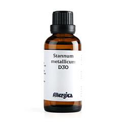 Stannum met. D30 fra Allergica - 50 ml.