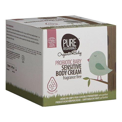 Pure Beginnings Baby sensitive body cream fragrance free