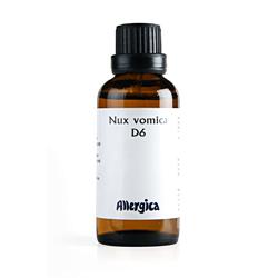 Nux vomica D6  fra Allergica - 50 ml.