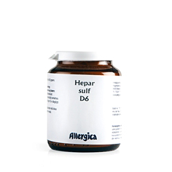 Image of   Hepar sulf. D6 trit fra Allergica - 50 ml.