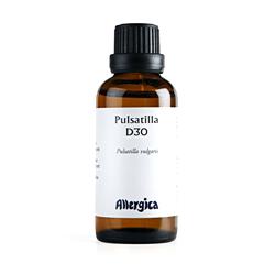 Pulsatilla D30 fra Allergica - 50 ml.