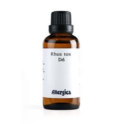 Rhus tox D6 fra Allergica - 50 ml.