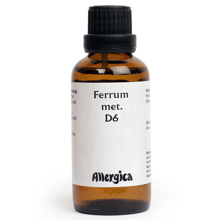 Image of   Ferrum met. D6 - 50 ml