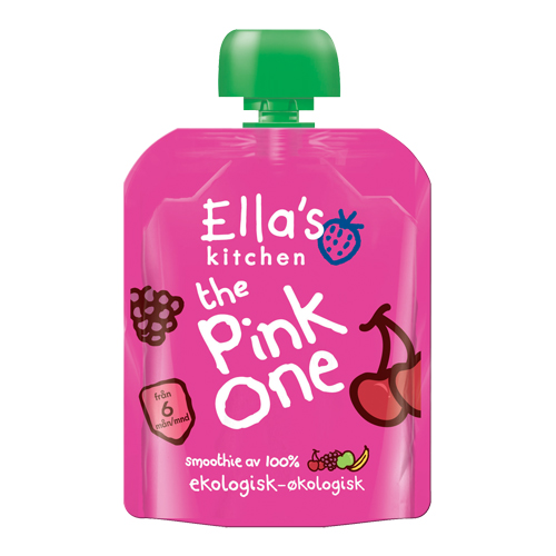 Image of Babysmoothie The Pink One 6 mdr Økologisk - 90 gr