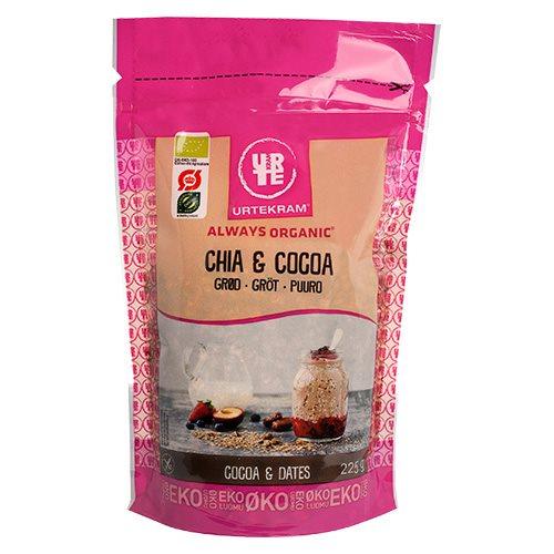 Image of Chia & Cocoa grød Økologisk Urtekram - 225 gram