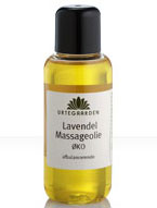 Lavendel massageolie Ø - 100 ml