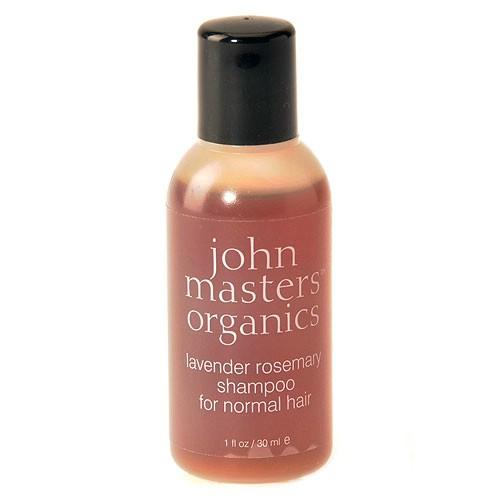 Image of   John Masters Shampoo Lavender Rosemary - 30 ml.