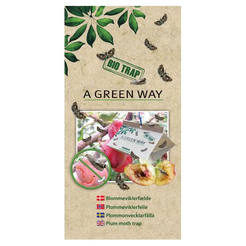 Blommeviklerfælde A Green Way - 2 stk.
