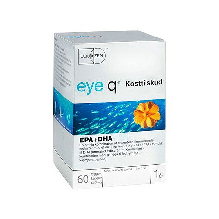 Image of Eye Q fiskeolie - 60 kapsler
