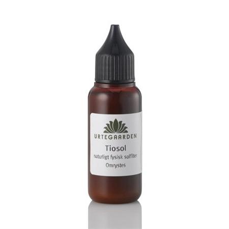 Tiosol solfilter fra Urtegaarden - 30 ml.