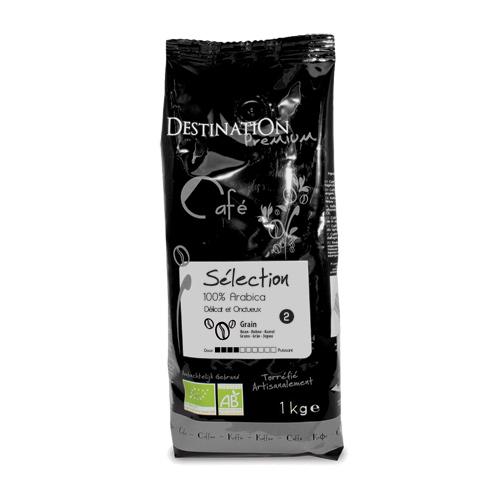 Kaffebønner 100% Arabica Økologisk - 1 kg