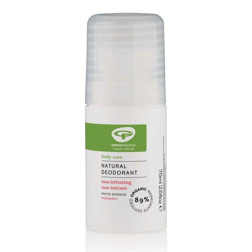 GreenPeople Deodorant Roll On med Rosmarin 75 ml