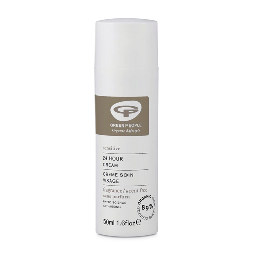 GreenPeople 24 timers creme uden duft - 50 ml