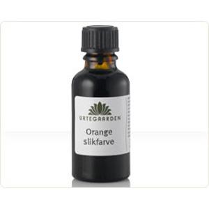 Image of Orange slikfarve - 10 ml