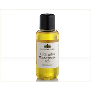Eucalyptus Økologisk Massageolie - 100 ml