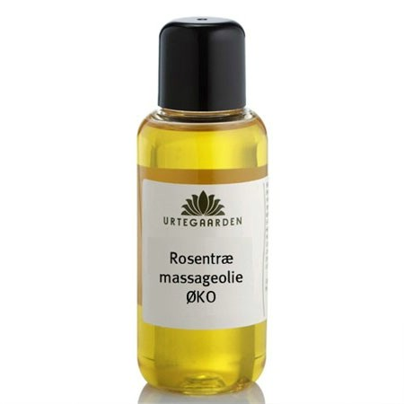 Rosentræ massageolie Økologisk - 100 ml