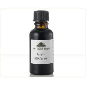 Image of Grøn slikfarve - 10 ml