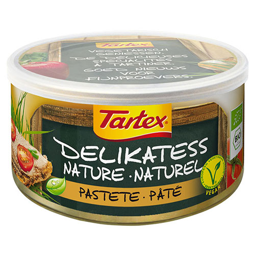 Tartex naturel Økologisk - 125 gram