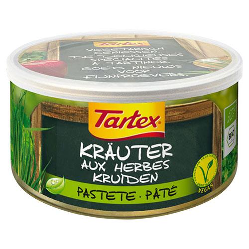 Tartex med urter i boks Økologisk - 125 gram
