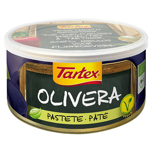 Image of Tartex med oliven dåse Økologisk - 125 gram