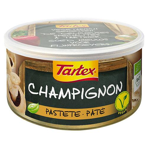 Image of Tartex med champignon dåse Økologisk - 125 gram