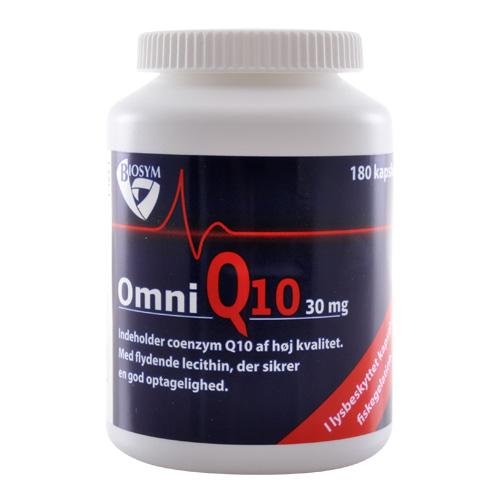 Biosym OmniQ10 30 mg (180 kapsel)