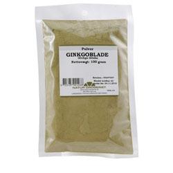 Image of   Ginkgoblade pulver Natur Drogeriet - 100 gram