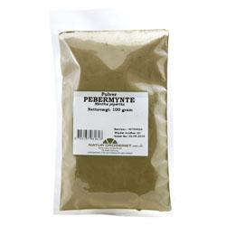 Image of   Pebermynteblade pulver Natur Drogeriet - 100 gram