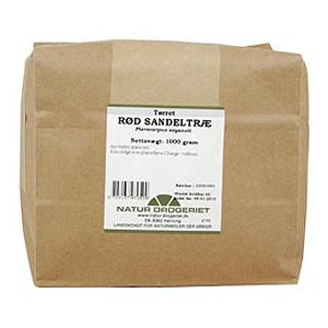 Sandeltræ rød fra Natur Drogeriet - 100 gram