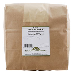 Image of Kanelbark knust ceylon fra Natur Drogeriet - 1 kg.