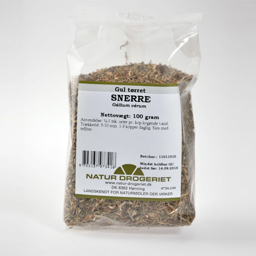 Image of Snerre gul tørret Natur Drogeriet - 100 gram