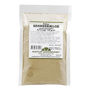 Sennesbælge pulver Natur Drogeriet - 100 gram