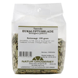 Image of   Eukaluptusblade fra Natur Drogeriet - 100 gram