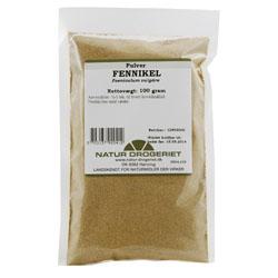 Image of   Fennikel pulver Natur Drogeriet - 100 gram