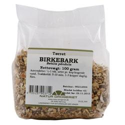 Image of   Birkebark fra Natur Drogeriet - 100 gram