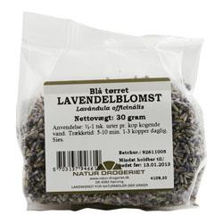 Image of   Lavendelblomst fra Natur Drogeriet - 30 gram