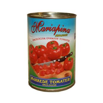 Image of   Hakkede tomater Økologiske - 400 gram