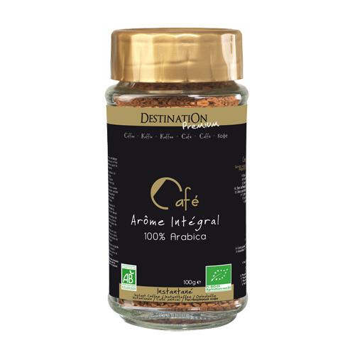 Instantkaffe 100% Arabica Økologisk - 100 gram