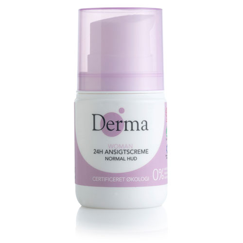 Image of Derma Eco Woman 24 timers creme Normal - 50 ml