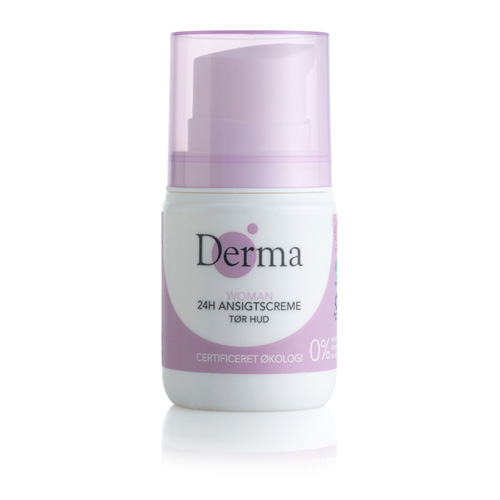 Image of Derma Eco Woman 24 timers creme Tør - 50 ml