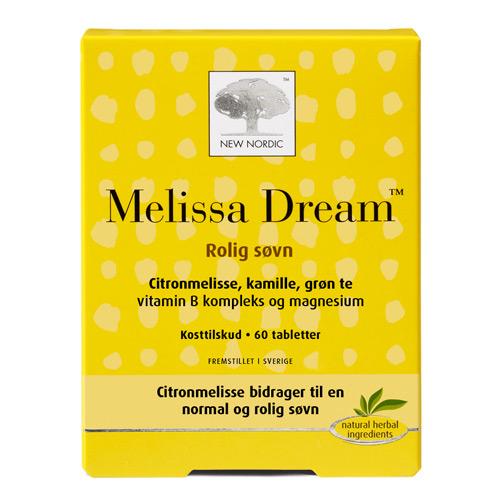 Melissa Dream fra New Nordic - 60 tabletter